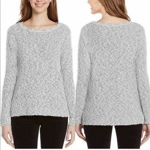 Buffalo David Bitton Womens Mixed Yarn Sweater